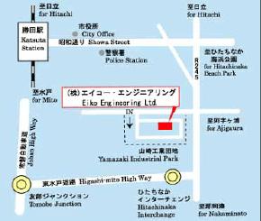 茨城営業所マップ