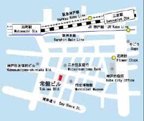 関西営業所マップ